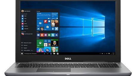 Notebook Dell 15 5000 (5567) (N-5567-N2-513S) šedý Software F-Secure SAFE 6 měsíců pro 3 zařízení + Monitorovací software Pinya Guard - licence na 6 měsíců v hodnotě 999 Kč + DOPRAVA ZDARMA