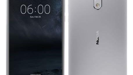 Mobilní telefon Nokia 6 Dual SIM (11PLES01A09) stříbrný