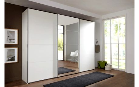 Skříň s posuvnými dveřmi ernie, 270/210/65 cm