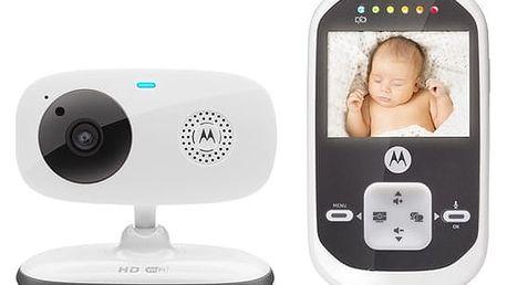 Dětská elektronická chůva Motorola MBP662 bílá + DOPRAVA ZDARMA