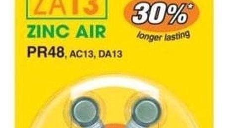 GP, ZA13, baterie do naslouchadel, 6ks - 1044001316