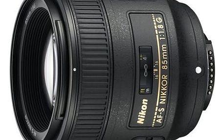 Objektiv Nikon 85MM F1.8G AF-S NIKKOR + DOPRAVA ZDARMA