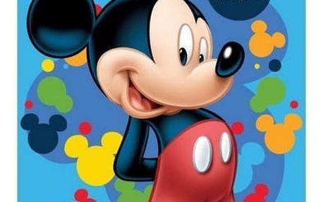 Jerry Fabrics Osuška Mickey blue 2, 70 x 140 cm