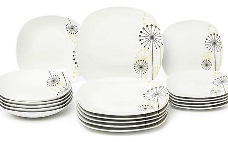 VANESA Jídelní souprava talířů z porcelánu 18dílná, MÄSER