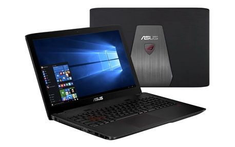 Notebook Asus GL552VX-CN117T (GL552VX-CN117T) černý/plast Software F-Secure SAFE 6 měsíců pro 3 zařízení + Monitorovací software Pinya Guard - licence na 6 měsíců v hodnotě 999 Kč + DOPRAVA ZDARMA