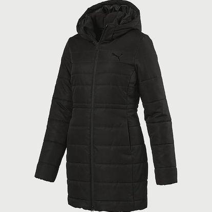 Bunda Puma Ess Hooded Padded Coat Black Černá
