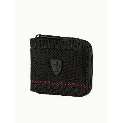 Peněženka Puma Ferrari LS Mesh Wallet M Black Černá