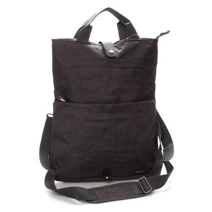 Unikátní šedá nylonová taška - Enrico Benetti Abydos šedá