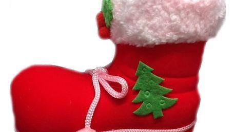 vánoční bota