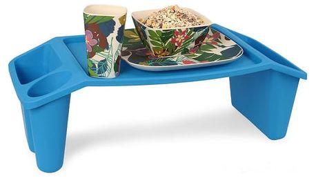 Praktický servírovací stolek na snídani do postele