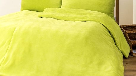 4Home povlečení mikroflanel zelená