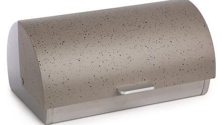 Chlebník šedý mramor, 39 x 28 x 19 cm