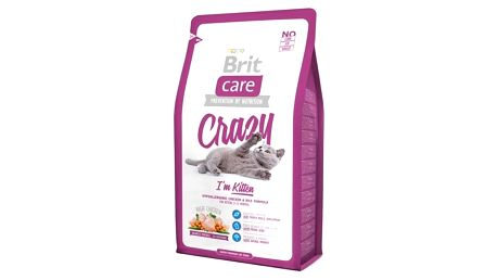 Granule Brit Care Cat Crazy I´m Kitten 2 kg