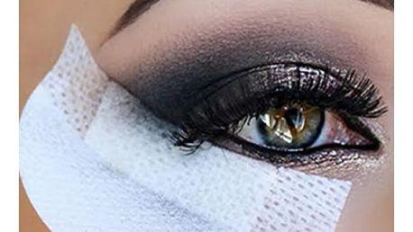 Ochranné podušky na líčení očí 10 ks