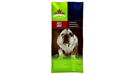 Granule CHICOPEE Light 15 kg, Dospělý pes + Doprava zdarma