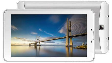 Dotykový tablet iGET SMART G71 (84000209) stříbrný/bílý Software F-Secure SAFE, 3 zařízení / 6 měsíců v hodnotě 979 Kč