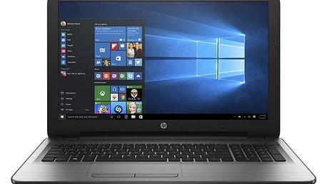 Notebook HP 15-ay037nc (E9L21EA#BCM) stříbrný + DOPRAVA ZDARMA