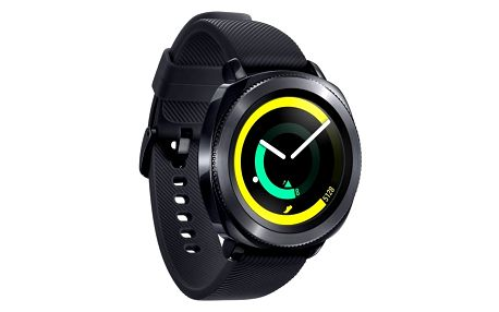Chytré hodinky Samsung Gear Sport (SM-R600NZKAXEZ) černý + DOPRAVA ZDARMA