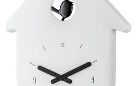 Koziol nástěnné hodiny Toc Toc bílá