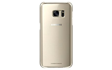Kryt na mobil Samsung pro Galaxy S7 (EF-QG930CZ) (EF-QG930CFEGWW) zlatý