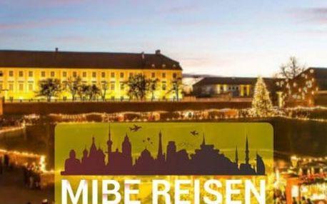 Advent na zámku Schloß Hof, čokoládovna a nákupy v Parndorfu
