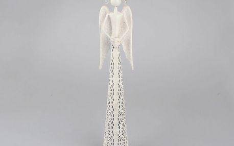 Dakls Kovový anděl s krajkovou sukní