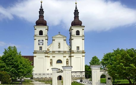 Uherský Brod, Hotel Kaunic***: 3-6 dní pro dva + snídaně, víno