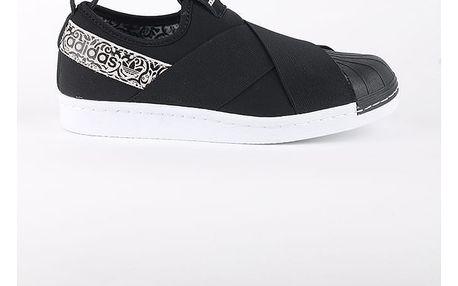 Boty adidas Originals SUPERSTAR SlipOn W Černá