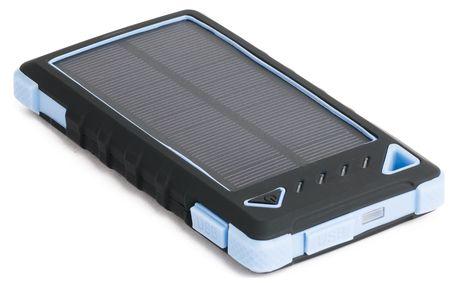 Solární power banka DOCA Solar 8 modrá
