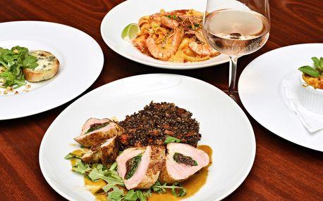 3chodové menu pro 2 milovníky italské kuchyně
