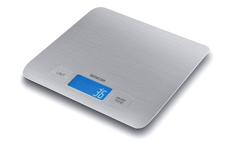 Kuchyňská váha SKS 5400 Sencor stříbrná do 5 kg