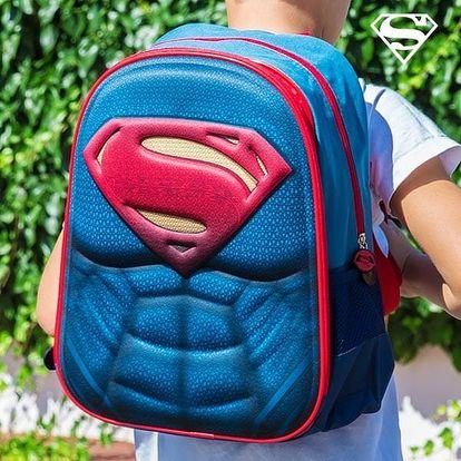 Školní Batoh 3D Superman