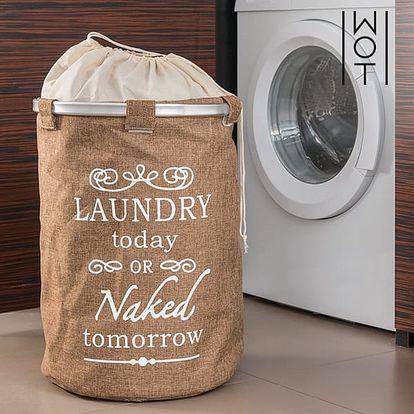 Retro Pytel na Špinavé Prádlo Cream Wagon Trend