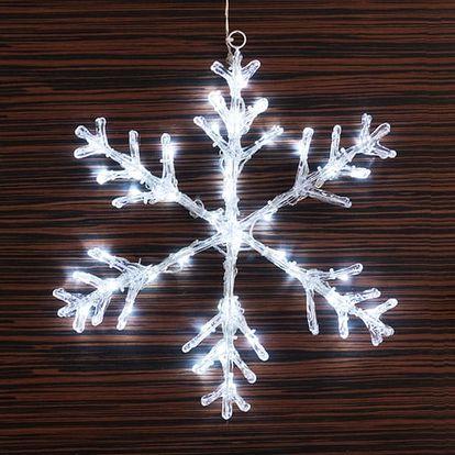 Dekorační Sněhová Vločka 40 LED