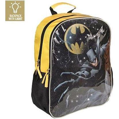 Školní batoh s LED Batman 983