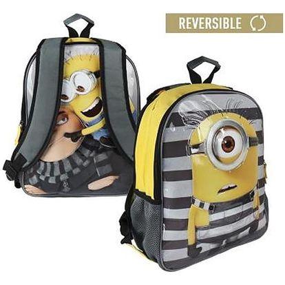 Oboustranný školní batoh Minions 846