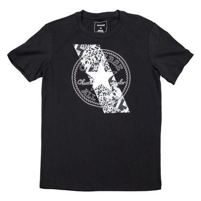 Converse černé pánské tričko Chuckpatch Constrast Slash Tee