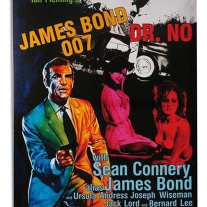 James Bond 007 Dr. No obraz na lněném plátně 50 x 70
