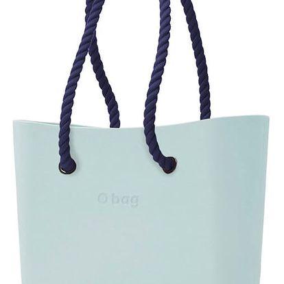 Obag kabelka Polvere s tmavě modrými provazovými držadly