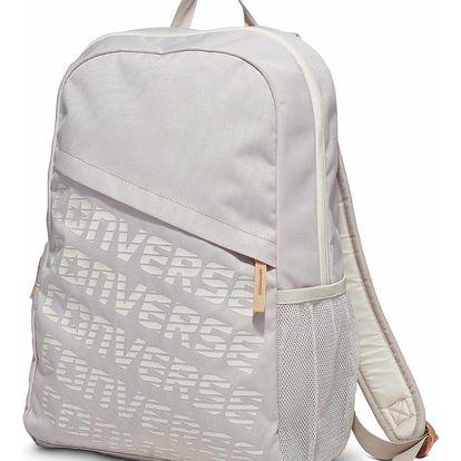 Converse světle šedý batoh Logo Sped Backpack