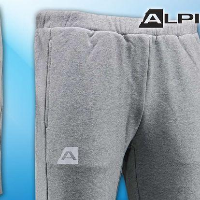 Pánské bavlněné tepláky Alpine Pro
