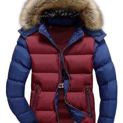 Zimní bunda Edmondo s kožíškem i bez - různé barvy