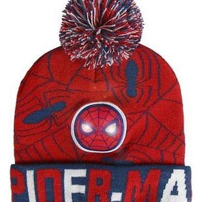 Čepice pro děti s LED Spiderman 318
