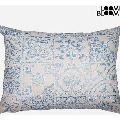 Polštářek Modrý 50 x 70 cm - Queen Deco Kolekce by Loom In Bloom