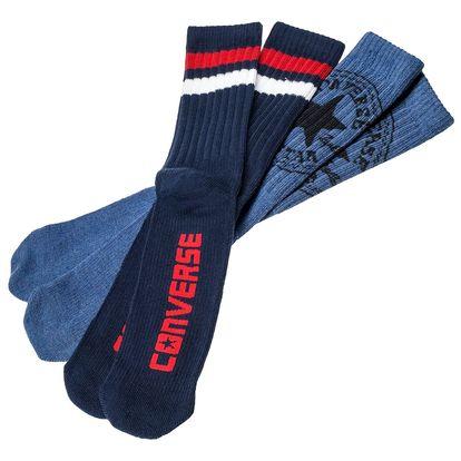 Converse 2Pack modrých pánských ponožek