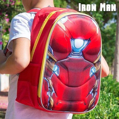 Školní Batoh 3D Ironman