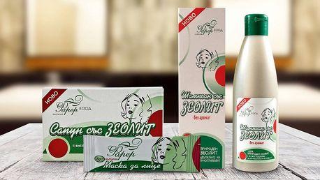 Přírodní bulharská kosmetika se zeolitem