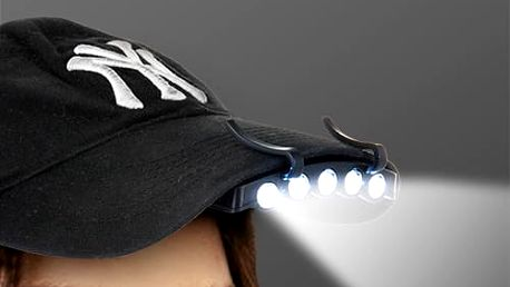 LED Baterka na Čepici