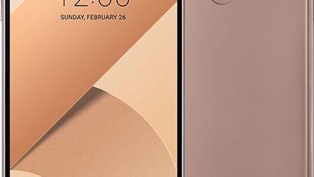 LG G6 - 32GB, zlatá + Zdarma GSM reproduktor Accent Funky Sound, červená (v ceně 299,-)