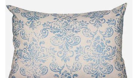 Polštářek Modrý 50 x 70 cm - Cities Kolekce by Loom In Bloom